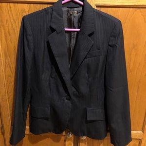 Zara woman's pinstripe blazer